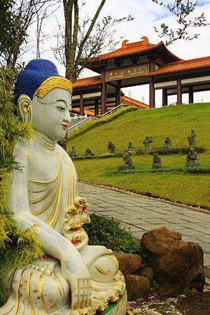 Zu Lai Temple - Zu Lai Temple, Buddha statue