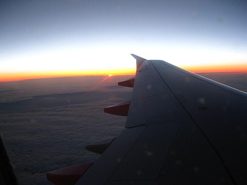 Teneriffa - Nordost - Sonnenuntergang über Frankreich