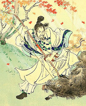 Emperor Yūryaku - Image: Tennō Yūryaku detail