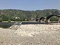 Tenshu of Iwakuni Castle and Kintaikyo Bridge on Nishikigawa River.jpg