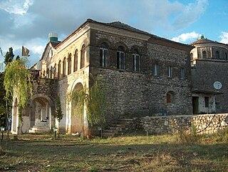 Tekke of Melan Teqe in the village of Melan, Southern Albania