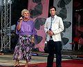 Teresa Lipowska and Kacper Kuszewski at III Meeting of Fans of the TV series 'M jak miłość' in Gdynia 2009 - 01.jpg