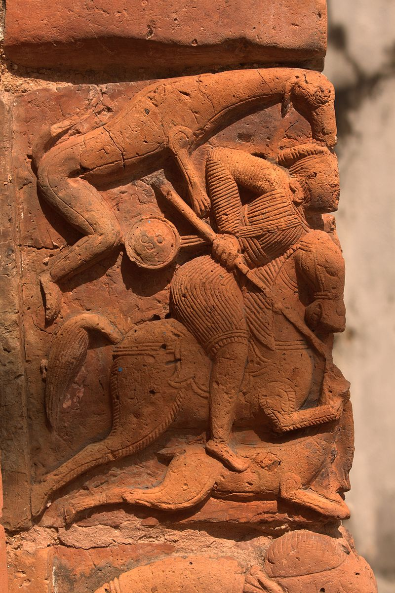 Terracotta Panel - Gopalji Temple - Kalna 2016-09-25 6480.jpg