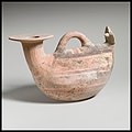 Terracotta askos (flask with a spout and handle over the top) MET DP1449 1970.11.14.jpg