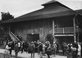 Le Roi David - Théâtre du Jorat, Mézières, where the dramatic psalm was first performed