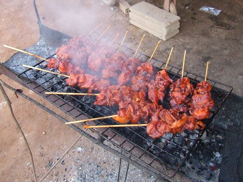 File:Thai grilled chicken.jpg