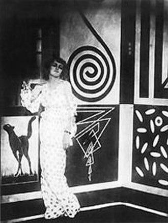 Italian futurism in cinema - Image: Thais Bragaglia 1917 01