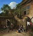 The Cottage Dooryard-1673-Adriaen van Ostade.jpg