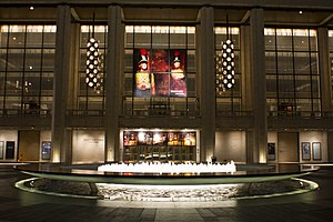 Lincoln Center for the Performing Arts - The David H. Koch Theater at Lincoln Center, home of the New York City Ballet