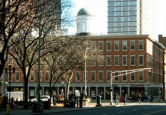 Ninth Square Historic District - Image: The Exchange, New Haven