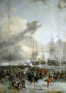 Capture of the Dutch fleet at Den Helder