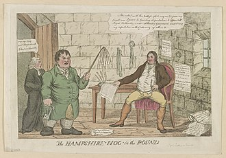 William Cobbett - The Hampshire hog in the pound