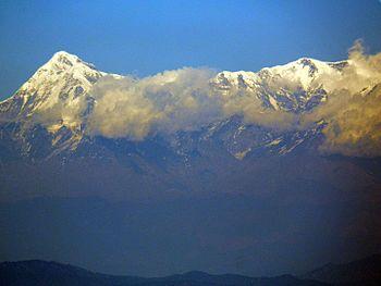 The Himalayan Range from Nainital.jpg