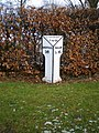 The Holy Cross milepost - geograph.org.uk - 1720254.jpg