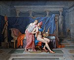 The Love of Paris and Helen by Jacques-Louis David (cropped).jpg
