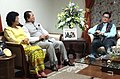The Minister of State for Home Affairs, Shri Kiren Rijiju calls on the Chief Minister of Mizoram, Shri Lal Thanhawla, in Aizawl on May 26, 2015.jpg