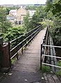 The New Gate footbridge, Linthwaite and Slaithwaite (1) - geograph.org.uk - 529174.jpg