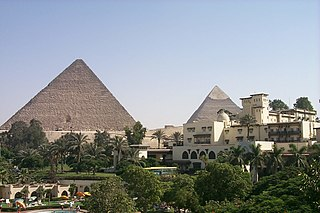 Marriott Mena House Hotel Hotel located just outside Cairo, Egypt