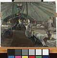 The Officers' Ward at the 41st Casualty Clearing Station Art.IWMART3809.jpg