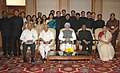 The Prime Minister, Dr. Manmohan Singh with the probationers of Indian Foreign Service (IFS), in New Delhi on May 31, 2010.jpg