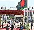 The Prime Minister, Shri Narendra Modi being given Ceremonial Welcome at Hazrat Shahjalal International Airport, in Kurmitola, Dhaka on June 06, 2015.jpg