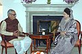 The Prime Minister of Bangladesh, Ms. Khaleda Zia calls on the Vice President, Shri Bhairon Singh Shekhawat, in New Delhi on March 21, 2006.jpg