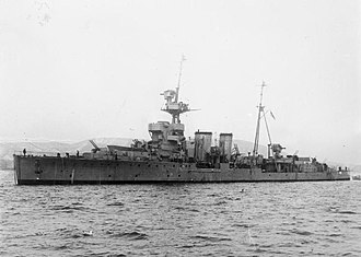 HMS Curacoa (D41) - Image: The Royal Navy during the Second World War A5808