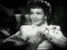 Claudette Colbert a The Secret Heart
