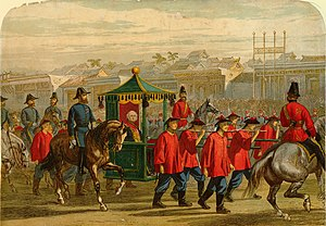 James Bruce, 8th Earl of Elgin - Entry of Lord Elgin into Peking, 1860