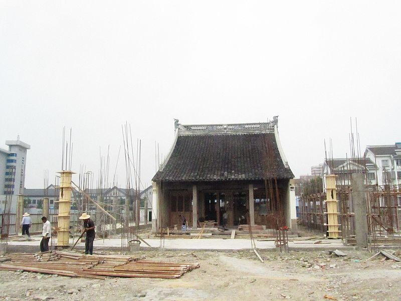 The Temple of the Town Deity in Pinghu 01 2014-06.jpg