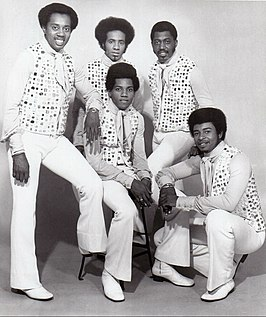 The Temptations in 1971.
