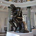 The Thinker by Rodin at the Cantor Arts Center of Stanford University.JPG