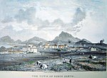 The Town of Porto Santo by James Bulwer (1825).jpg