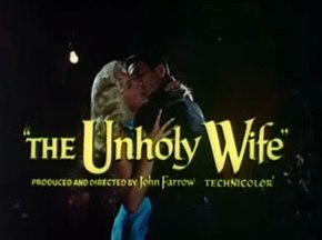 Description de l'image The Unholy Wife trailer title.jpg.
