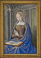The Virgin Mary receiving the Annunciation - Hours of Henry VII (c.1500), recto - BL Add MS 35254 V.jpg