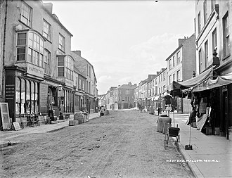 Mallow, County Cork - Thomas Davis Street (Main Street), Mallow in August 1903