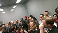 The Wikimania 2015 Reception at Museo Soumaya by ovedc 09.jpg