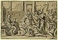 The adoration of the Magi - AA (monogram of Andrea Andreani) MDCV. LCCN2008678930.jpg
