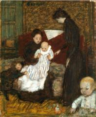 La Sœur de l'artiste et ses enfants