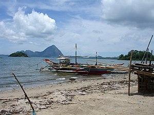 Blick von San Dionisio auf die Insel Pan de Azucar