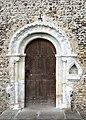 The church of St John the Evangelist - Norman doorway - geograph.org.uk - 706484.jpg