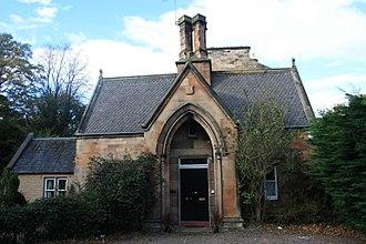 Newington Cemetery - The entrance lodge, Newington Cemetery, Edinburgh