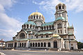 The gold-domed Alexander Nevsky Cathedral - Built in honour to the Russian soldiers who liberated Bulgaria from Ottoman (Turk) rule (13339065563).jpg