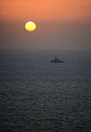 The guided missile destroyer USS Hopper (DDG 70) transits the Persian Gulf during exercise Spartan Kopis Dec. 8, 2013 131208-N-OU681-818.jpg