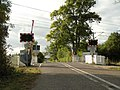The railway crossing on Hinxton Road - geograph.org.uk - 1541584.jpg