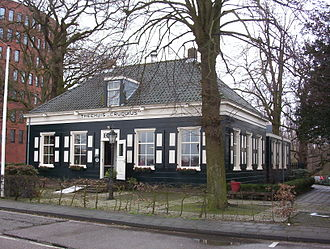 Cruquius, North Holland - Former residence of Cruquius mill's foreman, today a café next to the museum.