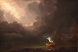 Thomas Cole: The Voyage of Life: Old Age
