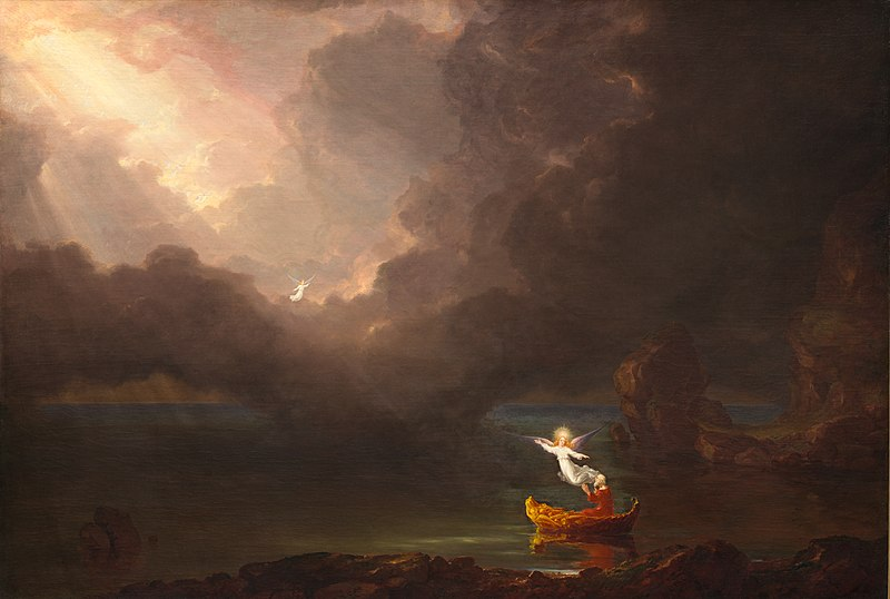 Archivo:Thomas Cole - The Voyage of Life Old Age, 1842 (National Gallery of Art).jpg