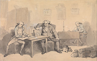 Rowlandson and Wigstead on Tour
