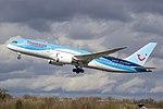 Thomson Boeing 787 Dreamliner G-TUII (26126980801).jpg